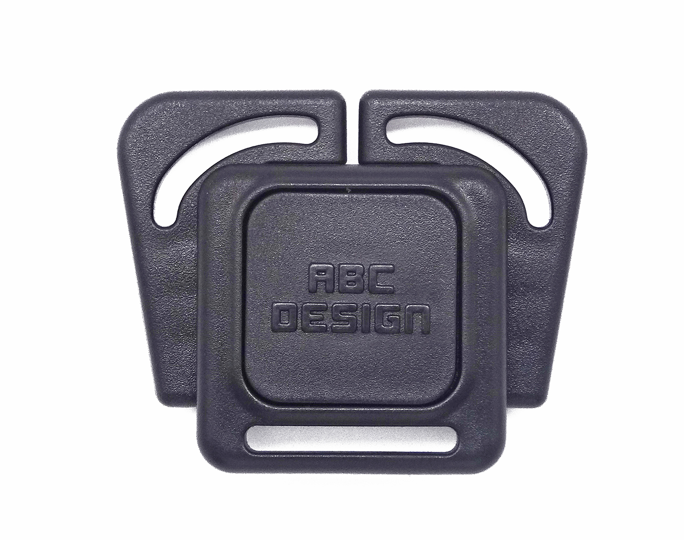 Made in China Customized Logo 3-Way Plastic Stroller Buckle OEM
