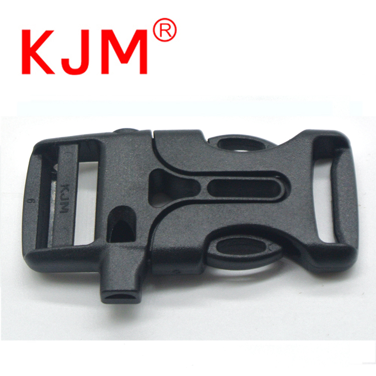 Wholesale Outdoor Survival Plastic Whistle Buckle