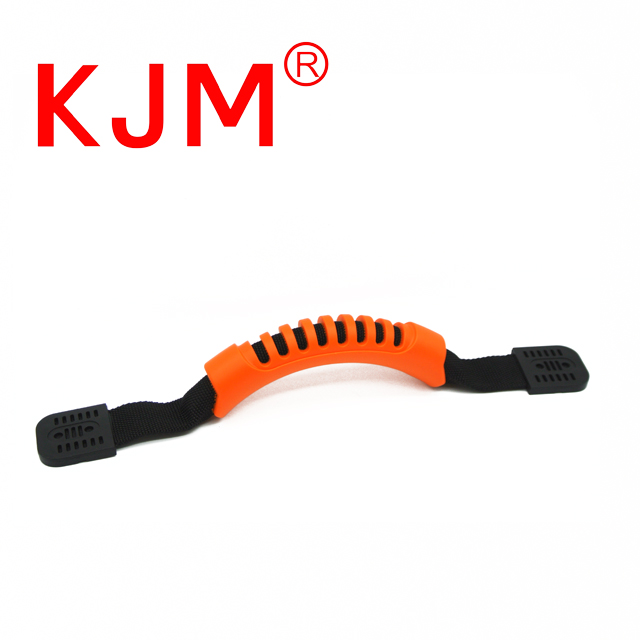 Customized Color Plastic Handle with Webbing for Surfboard