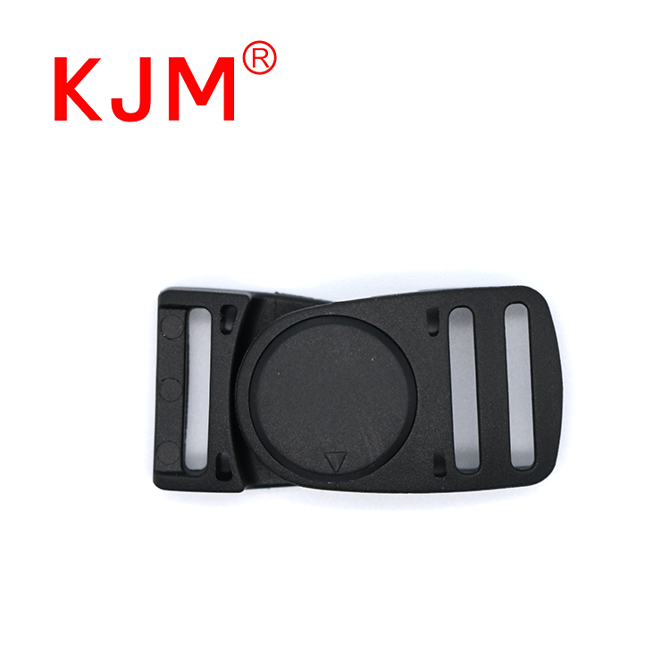 Plastic Interlocking Magnetic Buckle for Helmet