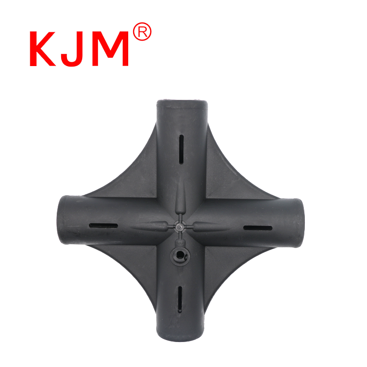 4 Way Big Plastic Tent Tube Pole Connector Assembly