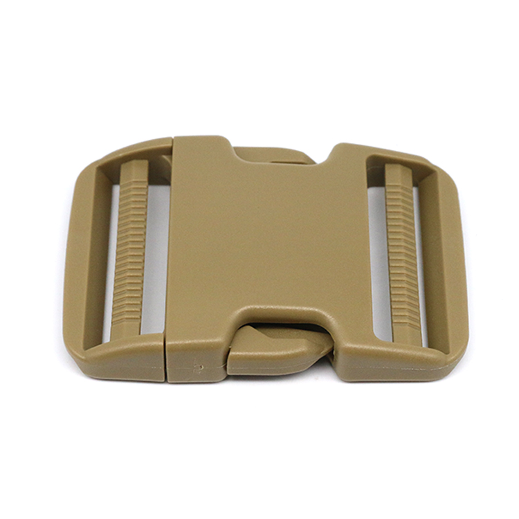 Backpack Bag Webbing Dual Adjustable Side Release Buckle Clip